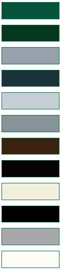 RAL-Farben von Briefkästen, Briefkasten und Briefkastenanlagen Teil 2