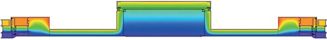 Querschnitt durch eine wärmesiolierte Briefkastenanlage Foto: allebacker5-Schulte
