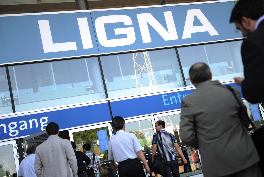 LIGNA 2013 Messe Hannover