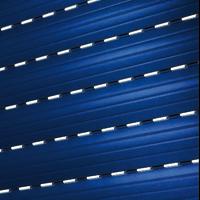 Rolladen mit Lichtschlitzen - Rolladenpanzer, Rollladenbehang, Rolladenprofil