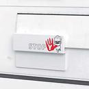 Stopy - der Schutz für ungenutzte Briefkästen vor ungewollter Befüllung, von allebacker Briefkastensysteme