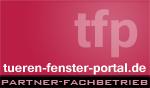 Partner-Fachbetrieb des Türen-Fenster-Portal.de - dem Informations- und Wissensportal für Fenster, Türen, Rolladen, Montage und Zubehör