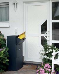 Zustellboxen Briefkästen zur Paketzustellung, diebstahlgeschützte Aufbewahrung des Postguts