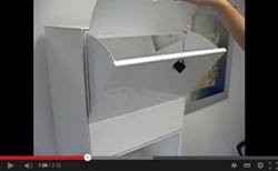 Zustellbox, der diebstahlgesicherte Briefkasten XXL von allebacker Briefkastensysteme