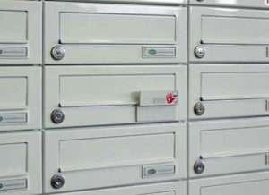 Briefkasten - 'Briefkästen - Briefkastenanlagen - Haustürseitenteil-Briefkastenanlagen - www.tueren-fenster-portal.de