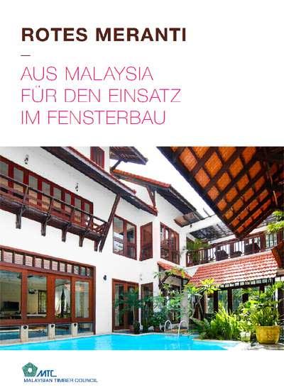 Rotes Meranti aus Malaysia